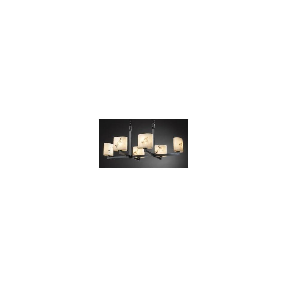 Justice Design Group FAL 8826 30 6 Light LumenAria Chandelier Light