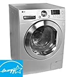 LG WM3455HS 24 Front Load Compact Washer/Dryer Combo , 2.7 cu. ft. Capacity ....