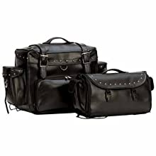 Wmu 2Pc Motorcycle Tour Bag Set (Pack Of 1)