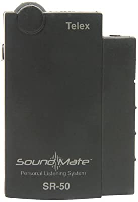 SoundMate SR-50 Ch I Personal Receiver 72.9 MHz from TELEX