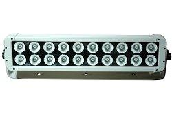200 Watt High Intensity Trunnion Mount Led Light Bar - 20, 10-Watt Leds - 9-46Vdc - 17200 Lumens(-Fl