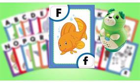 Bring upper- & lowercase letters to life with 200+ audio responses and characters
