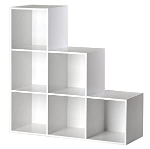 Bibliothque escalier NEXT Blanc - Sparations BUT