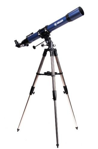 Meade 20225 Terrastar 60-Millimeter Altazimuth Refractor Telescope With Carry Bag (Silver)