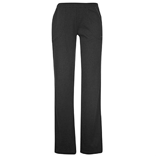 ladies-la-gear-jogging-bottoms-fitness-pants-black-size-18
