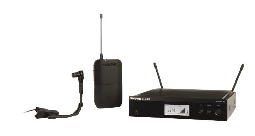 Shure Blx14R/B98 Wireless Instrument Rack Mount System With Beta 98H/C Instrument Microphone, M15