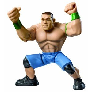JOHN CENA - WWE POWER SLAMMERS MATTEL TOY WRESTLING ACTION FIGURE - 1