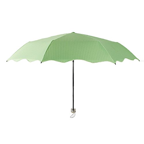 migobi folding flouncing 42 inch sun rain compact umbrella. Black Bedroom Furniture Sets. Home Design Ideas