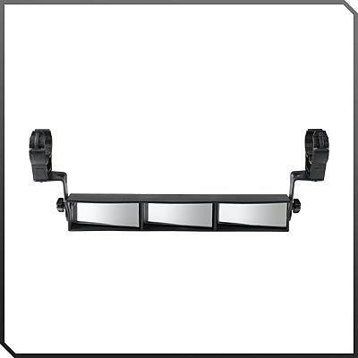 Polaris UTV Ranger RZR 570/RZR 800/RZR S/RZR XP/RZR 4 3-Panel Rear View Mirror - pt# 2878797 (Utv Mirror Panel compare prices)