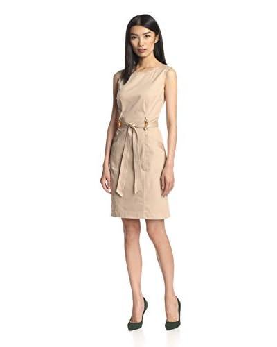 Ellen Tracy Women's Belted Dress