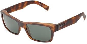 VonZipper Fulton Square Sunglasses,Tortoise Satin,One Size