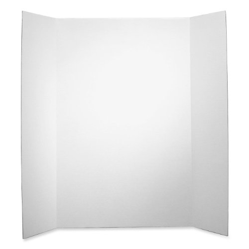 Elmer's Single Ply Corrugated Display Board, 48 X 36, White,