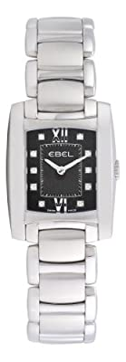 Ebel Women's 9976M22/58500 Brasilia Black Diamond Dial Watch
