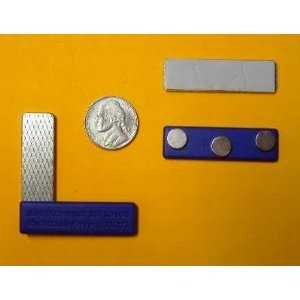Applied Magnets ® 10 Name Badge Magnets - Magnetic Name Tag Holders w/ Three Neodymium Magnets