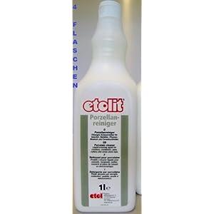 Etolit Porzellanreiniger Porzellan Reiniger 4 x 1000 ml