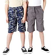 2 Pack Limited Pure Cotton Assorted Shorts