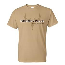 Men's Booneyville Deer Skull Silhouette  T-shirt