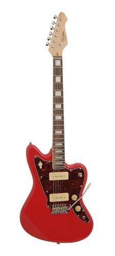 Rivelazione RJT60 Jazzmaster Electric Guitar Series (Fiesta Red)
