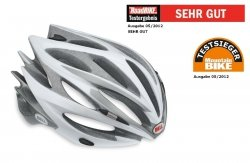 Bell Fahrradhelm SWEEP 10, White/SIlver,