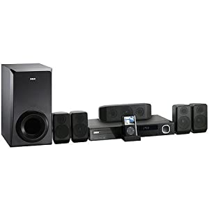 RCA RTD615i DVD Home Theater System with Dock for iPod