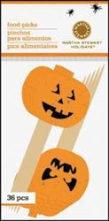 Bulk Buy: Martha Stewart Mini Food Picks 36/Pkg Classic Halloween (3-Pack)
