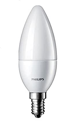 buy philips e14 2 7 watt led candle bulb cool day light and pack of 1 online at low prices in. Black Bedroom Furniture Sets. Home Design Ideas