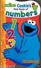Cookie's First Book of Numbers (Sesame Street)