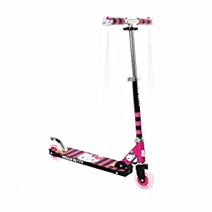 Hello Kitty Scooter, Black/Pink/White, 4-Inch