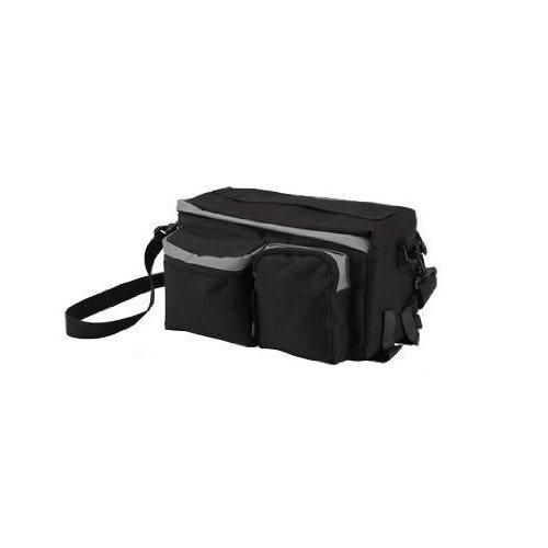 SODIAL-R-Fahrrad-Gepcktrgertasche-Gepcktasche-Fahrradtasche-Satteltasche-Tasche-BagFlasche-nicht-enthalten