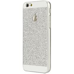 Shine glitter back case Apple iphone 6/6s Silver