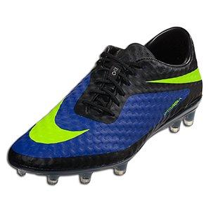 Nike HYPERVENOM PHANTOM FG Mens Soccer Hyper Blue Black Volt US sz. by Nike