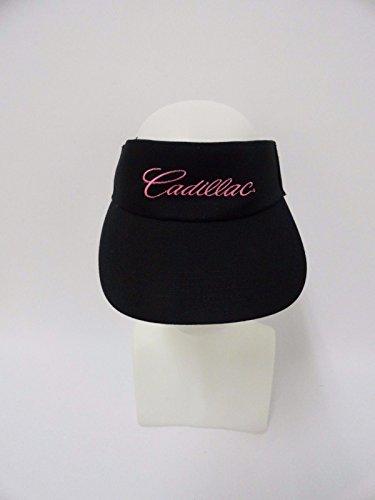 New Cadillac Sun Visor Golf Tennis Hat Cap 100 % Cotton Men's Women's Black Pink (2xu Sun Visor compare prices)