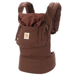 Ergobaby Organic Baby Carrier - Dark Chocolate