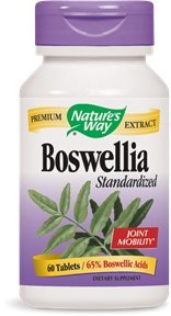 Natures Way Standardized Boswellia Extract Capsule - 60 Per Pack -- 3 Packs Per Case.