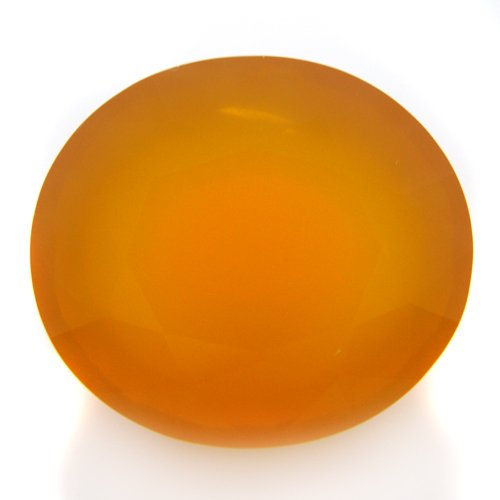 Natural Yellow Fire Opal Loose Gemstone Oval Cut 17*15mm 14.30cts VS Grade Gem