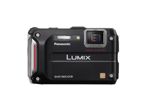 Panasonic Lumix TS4 12.1 TOUGH Waterproof Digital Camera with 4.6x Optical Zoom (Black)