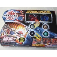 Bakugan Battle Brawlers Game Series 1 Battle Pack of 6 - Red and Blue Spheres (one of each of the other colors)