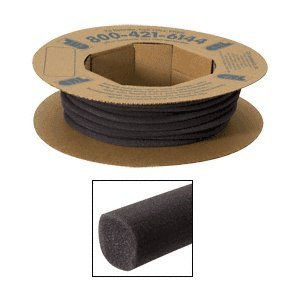 crl-black-open-cell-backer-rod-5-8-diameter-in-a-100-foot-roll-by-cr-laurence