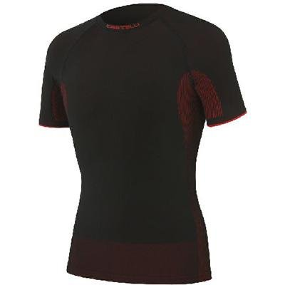 Buy Low Price Castelli 2012/13 Iride Seamless Short Sleeve Cycling Base Layer – A11532 (B005K4DP6C)