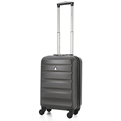 "Aerolite 21""/55cm ABS Cabin Hand Luggage Hardshell Travel Suitcase"