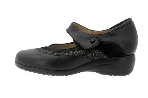 Scarpe donna comfort pelle Piesanto 7982 mary jean casual comfort larghezza speciale