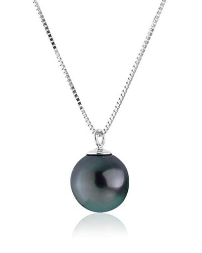Compagnie générale des perles Collar  Negro