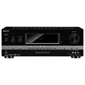 Sony STR-DH710 7.1-channel Blu-ray Disc A/V Receiver with 6 HD Inputs (3 HDMI, 3 Component) (Black)