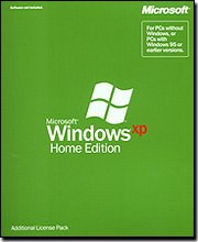 Microsoft Windows XP Home Edition Additional License Pack - 1 PC [Old Version]