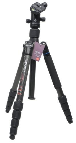 Benro Travel Angel 2 Five Section Carbon Twist Lock Tripod with B0 Head