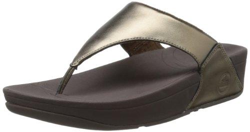 Fitflop Women'S Lulu Thong Sandal,Bronze,8 M Us front-1082217