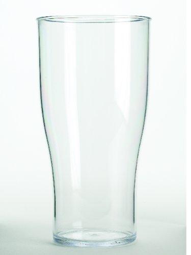 10-solid-rigid-plastic-ce-marked-pint-glasses-tulip-pilsner-style-reusable-dishwasher-safe