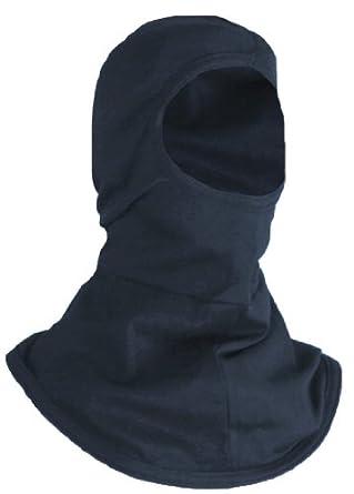 National Safety Apparel H11BA 11.6 Cal Modacrylic Fabric Reliant Knit Hood, Navy