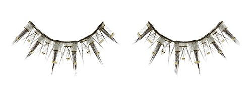 Zinkcolor Gold Lined Fabric False Eyelashes E154 Dance Halloween Costume