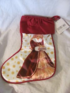 BRAND NEW 1996 HALLMARK BARBIE LARGE CHRISTMAS STOCKING RED SATEEN & WHITE штампованный диск mefro 516003 6x16 5x114 3 d67 et51 черный